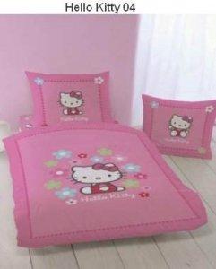 Pościel Hello Kitty różowa