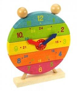 Drewniany zegar układanka