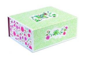 Pudełko na zabawki biżuterię drobiazgi Flower Djeco