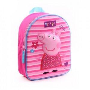 Plecak 3D Peppa Pig - Świnka Pepa wypukły new