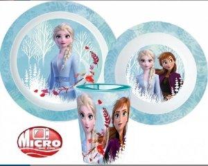 Zestaw naczyń obiadowy Disney Frozen Kraina Lodu