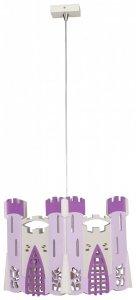 Lampa wisząca-żyrandol Zamek