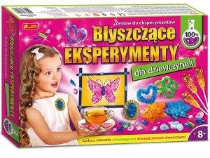 Błyszczące eksperymenty dla dziewczynek