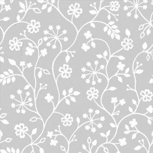 Statyczna folia Kwiatki 90x150