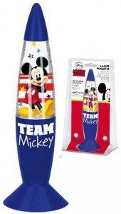 Lampka nocna Myszka Miki Glitter brokatowa Mickey Mouse Disney