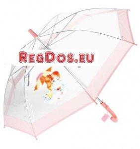Parasolka przezroczysta Oczko automat