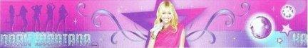 Border Hannah Montana
