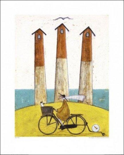 Sam Toft Latarnie Morskie Plakat Premium Plakaty Pozostałe