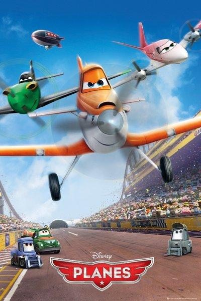 Samoloty Planes Plakat Plakaty Dziecięce