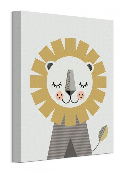 Lew - obraz na płótnie