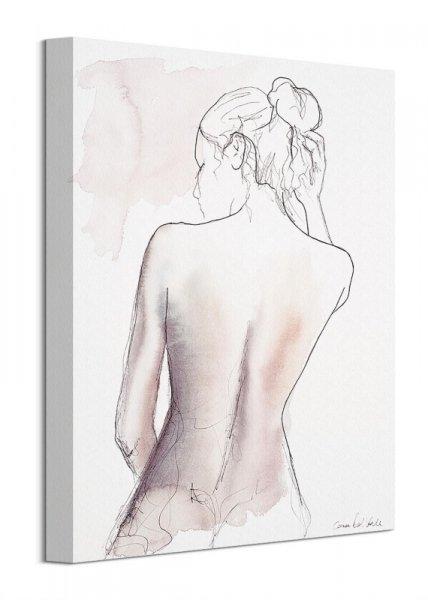 Szkicunek Kobiety - obraz na płótnie