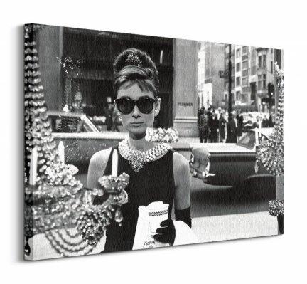 Audrey Hepburn Window - obraz na płótnie