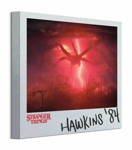 Stranger Things Hawkins - obraz na płótnie