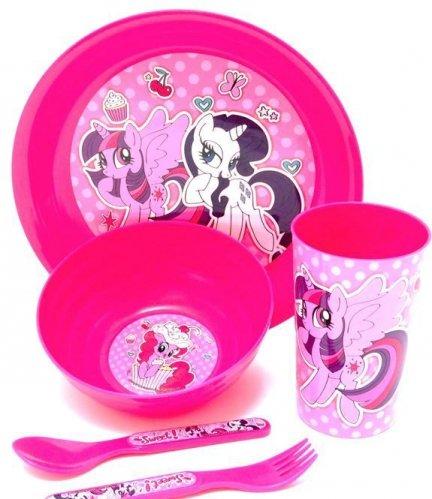 d0a60d3eef21b Zestaw Śniadaniowy 5w1 dla dzieci My Little Ponny - Plecaki, piórniki