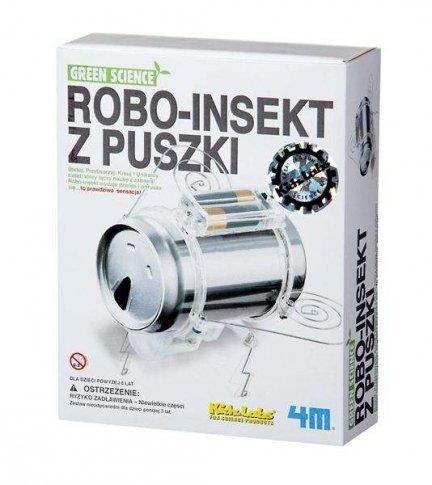 Robot Insekt z puszki
