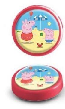 Lampka push na baterie Świnka Peppa Pig LED