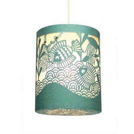 Lampa wisząca - abażur RYBKI