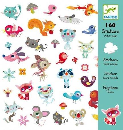 160 naklejek Zwierzaki