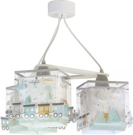 Lampa sufitowa Pociąg potrójna 3x60W E27 Dalber 63534