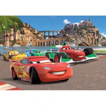 Fototapeta Disney Cars Auta Wyścig 360x254cm