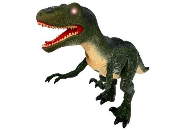 Interaktywny Dinozaur Velociraptor efekty Dźwięk Światło Ruch
