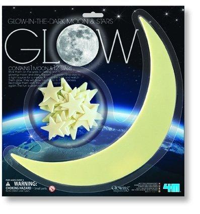 Świecące gwiazdki i księżyc 5215