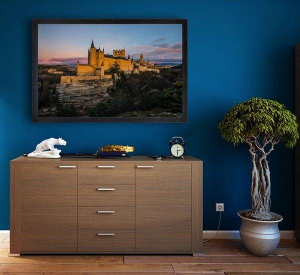 Segowia, Hiszpania - plakat premium