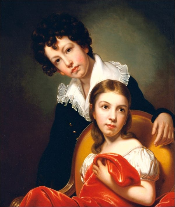 Michael Angelo and Emma Clara Peale, Rembrandt - plakat