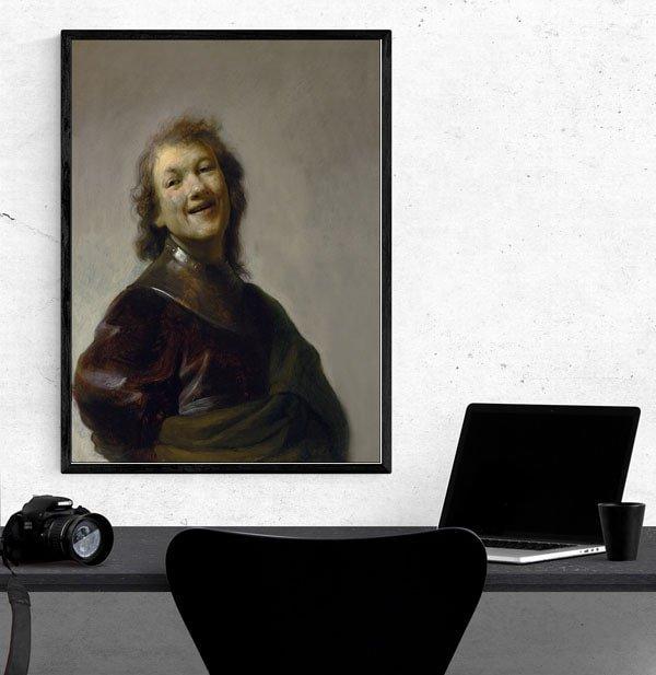 Rembrandt Laughing, Rembrandt - plakat