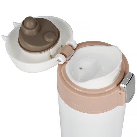 Asobu - Diva Cup Biały / Brązowy - Kubek termiczny 450ml