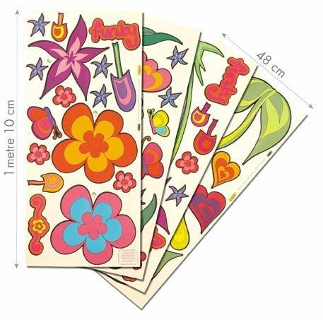Naklejki Kwiaty XXL