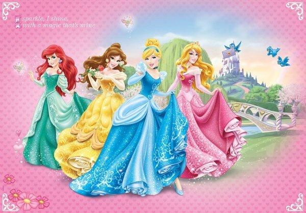 Fototapeta na flizelinie Princess Księżniczki XXL