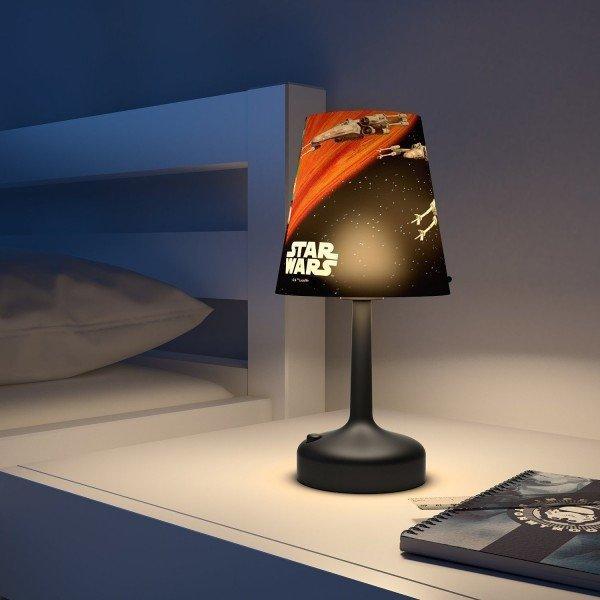 Lampka nocna stojąca STAR WARS SPACESHIPS Phillips LED Gwiezdne Wojny