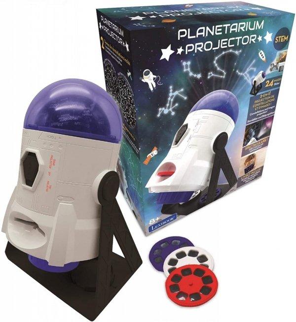Obrotowe planetarium i projektor slajdów 2w1 konstelacje znaki zodiaku