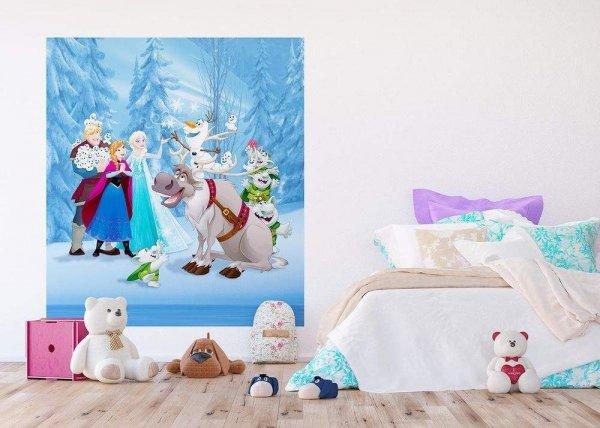 Fototapeta Kraina Lodu 180x202cm Disney Frozen new