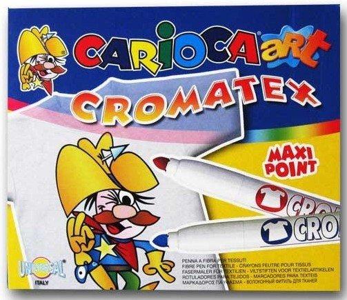 Carioca Cromatex pisaki do tkanin x12