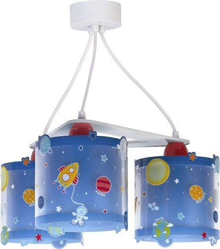 Lampa sufitowa KOSMOS PLANETY potrójna 3x60W - E27