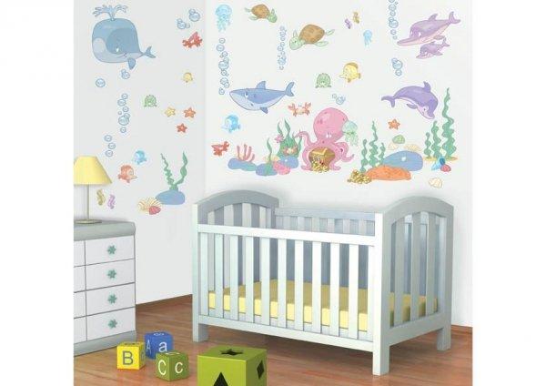 Zestaw naklejek Baby Sea