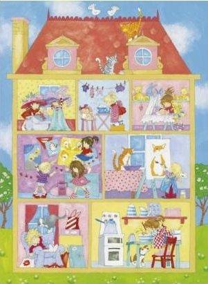 Tapeta dom dla lalek
