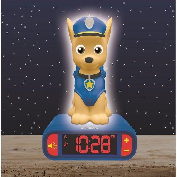 Budzik Lampka nocna PAW Psi Patrol zegar