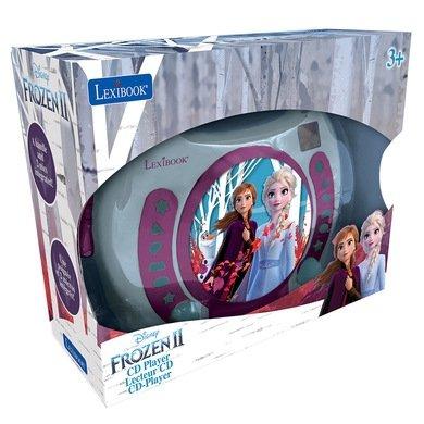 Przenośny odtwarzacz  CD Kraina Lodu Frozen Karaoke Mikrofon