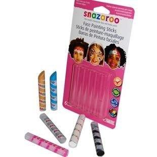 Kredki do twarzy, buzi - zestaw dla dziewczynek