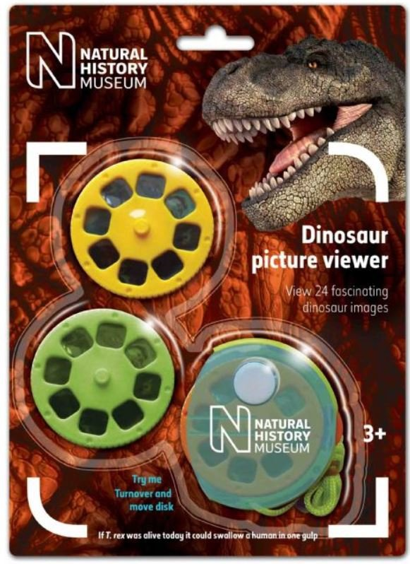 Mini projektor slajdów Dinozaury