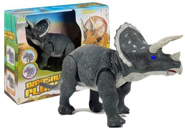 Duży Dinozaur Na Baterie Triceratops