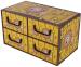 Pudełko Sawanna 4 szufladki poziome LEW