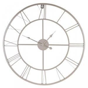 Zegar ścienny minimalistyczny złoty 57cm