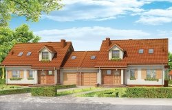 Projekt domu Szkwał pow.netto 135,74 m2