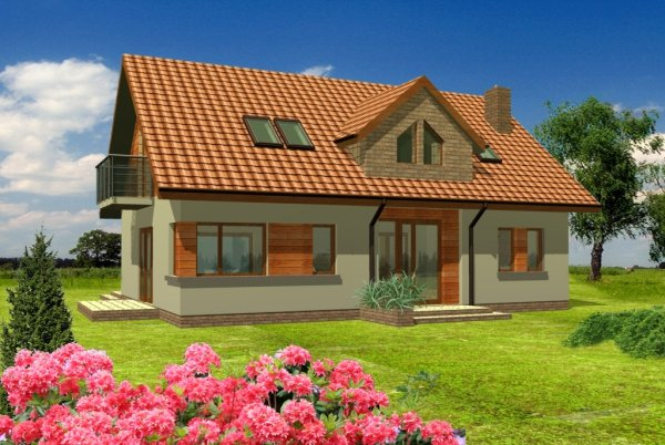 Projekt domu TK23L