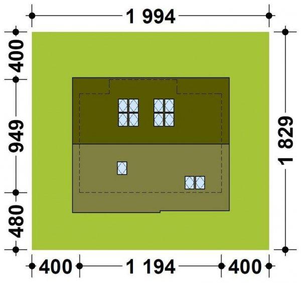 Projekt domu TK12
