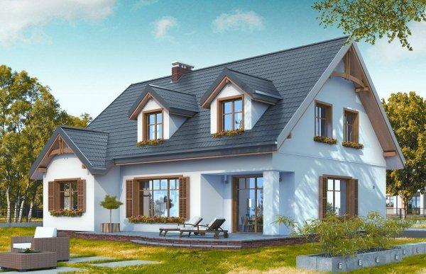 Projekt domu Cukiereczek pow.netto 170,87 m2